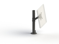 SpacePole Pole Mount, Screen VESA 75/100 Screen tilt adjustment,+10/-50 SPV1101-02 - eet01