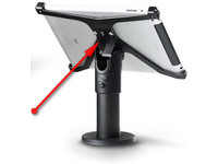 SpacePole X-Frame, Linx 1010 Excl Stand, Holder only, Black SPXF9305-02 - eet01