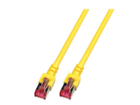 MicroConnect SSTP CAT6 0.5M YELLOW, LSZH Snagless SSTP6005YBOOTED - eet01