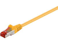 MicroConnect S/FTP CAT6 1.5m Yellow LSZH PiMF (Pairs in metal foil) SSTP6015Y - eet01
