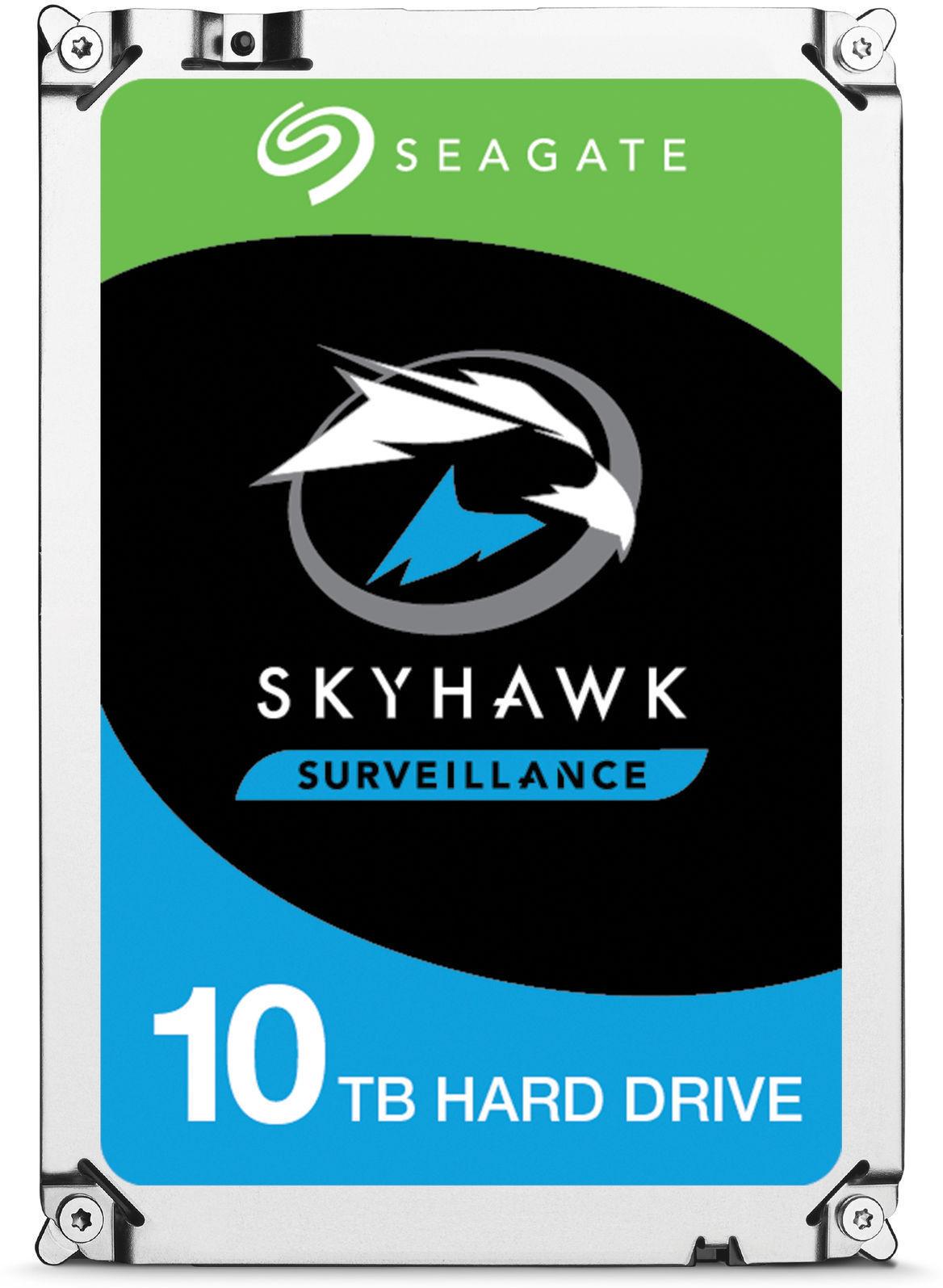 Seagate SKYHAWK AI 10TB 3.5 6GB/S SATA With Rescue Drivecare ST10000VE0008-DC - eet01