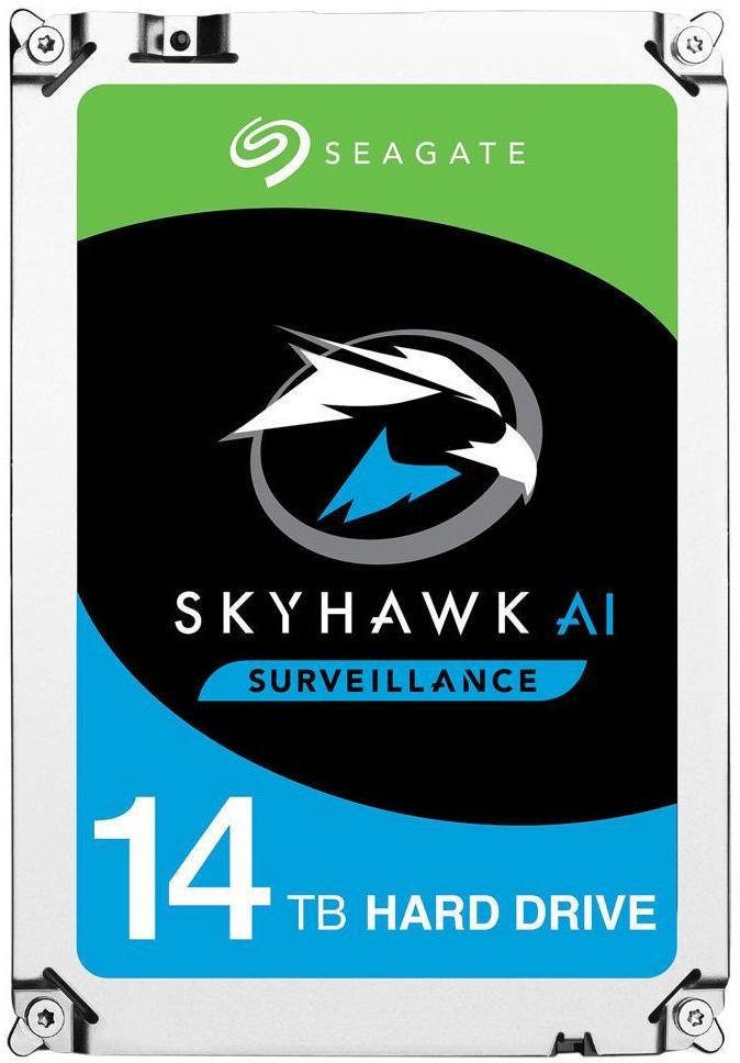Seagate SKYHAWK AI 14TB 35 6GB/S SATA With Rescue Drivecare ST14000VE0008-DC - eet01