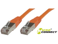 STP501O MicroConnect STP CAT5E 1M ORANGE PVC  - eet01