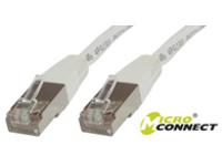 MicroConnect STP CAT5E 1M WHITE PVC  STP501W - eet01