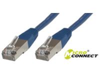 STP603B MicroConnect STP CAT6 3M BLUE LSZH  - eet01