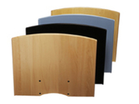 SMS Flat shelf H Black+Consol  SU010020-P0 - eet01