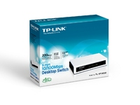 TP-Link 5 port 10/100 mini Switch, pla  TL-SF1005D - eet01