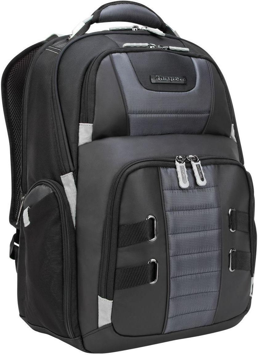 """Targus DrifterTrek 15.6-17.3"""" USB Laptop Backpack Black TSB957GL - eet01"""