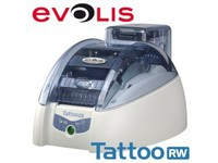 Evolis Tattoo2 RW, single sided 300dpi, USB, Ethernet TTR201BBH - eet01