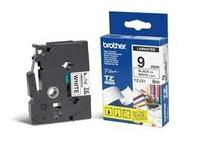 Brother Tape Black on White 9mm  TZE221 - eet01