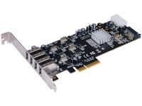 ST Labs PCI Express USB 3.0 Card Quad Channel 4 Ports Card U-1010 - eet01