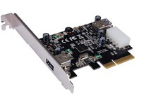 ST Labs PCIe x 4, USB 3.1-C  Card 1 x ext. USB 3.1 Type-A U-1140 - eet01