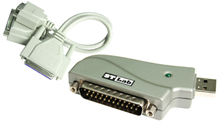 ST Labs USB to 1S1P Serial/Parallel Dongle U-380 - eet01