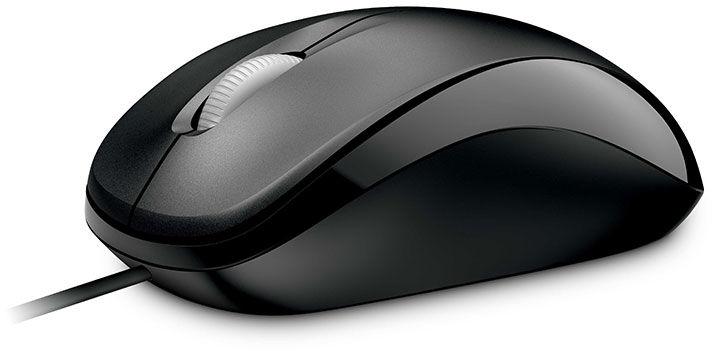 Microsoft Compact Opt Mouse 500 Black  U81-00083 - eet01
