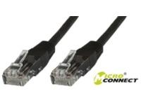 MicroConnect U/UTP CAT5e 1M Black PVC Unshielded Network Cable, UTP501S - eet01