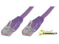 MicroConnect U/UTP CAT5e 3M Purple PVC Unshielded Network Cable, UTP503P - eet01
