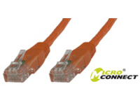 MicroConnect U/UTP CAT5e 5M Orange PVC Unshielded Network Cable, UTP505O - eet01