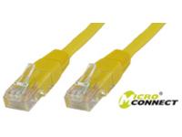 MicroConnect U/UTP CAT5e 10M Yellow PVC Unshielded Network Cable, UTP510Y - eet01