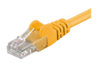 UTP525Y MicroConnect U/UTP CAT5e 25M Yellow PVC Unshielded Network Cable, - eet01