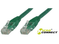 MicroConnect U/UTP CAT6 0.2M Green LSZH Unshielded Network Cable, UTP6002G - eet01