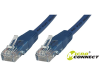UTP6004B MicroConnect UTP CAT6 0.4M BLUE LSZH  - eet01