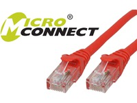 MicroConnect U/UTP CAT6 1.5M Red, Snagless Unshielded Network Cable, UTP6015RBOOTED - eet01