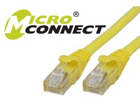 UTP605YBOOTED MicroConnect UTP CAT6 5M YELLOW SNAGLESS LSZH - eet01