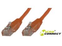 MicroConnect U/UTP CAT6 25M Orange LSZH Unshielded Network Cable, UTP625O - eet01