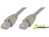 MicroConnect U/UTP CAT6A 0,25M Grey LSZH Unshielded Network Cable, UTP6A0025 - eet01