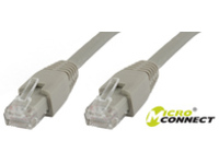 MicroConnect U/UTP CAT6A 2M Grey LSZH Unshielded Network Cable, UTP6A02 - eet01