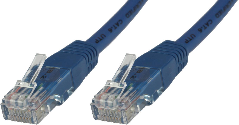 MicroConnect U/UTP CAT6A 3M Blue LSZH Unshielded Network Cable, UTP6A03B - eet01