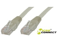 V-UTP5005VP MicroConnect U/UTP CAT5e 0.5 Grey 10 Pack 1 pcs. = 10 pcs. in one bag - eet01