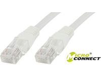 MicroConnect U/UTP CAT5e 1m White 10 Pack 1 pcs. = 10 pcs. in one bag V-UTP501WVP - eet01