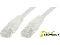 MicroConnect U/UTP CAT5e 5M White 10 Pack 1 pcs. = 10 pcs. in one bag V-UTP505WVP - eet01