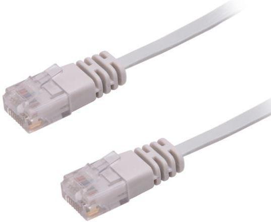 MicroConnect U/UTP CAT6 10M Grey Flat Unshielded Network Cable, V-UTP610-FLAT - eet01