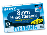 Sony 8MM CLEANING TAPE  V825CLD.E - eet01