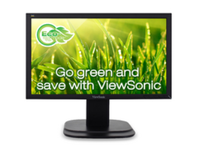 "ViewSonic 20"" Wide LED monitor - 1600x900, 5ms, 250nits, 2xUSB, VG2039M-LED - eet01"
