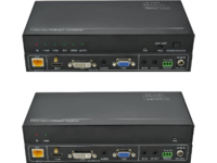 VivoLink HDBaseT Transceiver Set HDMI/DVI/VGA out resolution up VL120017 - eet01