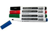 VivoLink Whiteboard Marker 4 colours Black,Red,Blue,Green VLAS104 - eet01