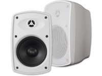 "VivoLink 2-Way Wall Mount Speaker Set, White, 100W,  6.5"" VLSPH620WT - eet01"