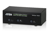 Aten 2-port VGA Audio/Video switch  VS0201-AT-G - eet01