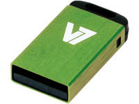 V7 NANO USB STICK 16GB GREEN USB 2.0 23X12X4MM RETAIL VU216GCR-GRE-2E - eet01