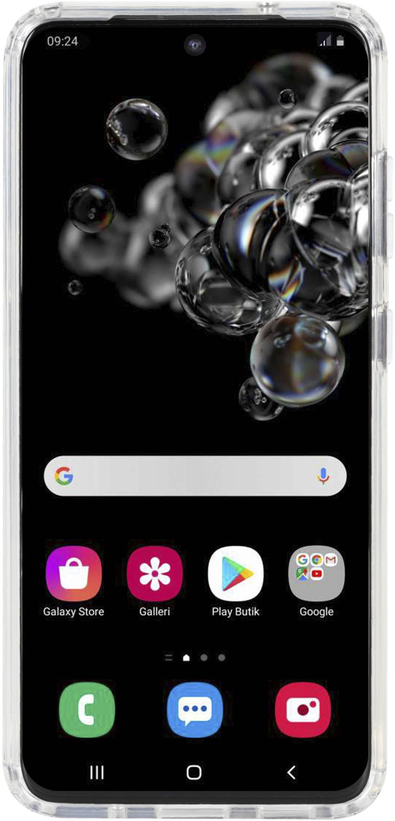 Krusell Essentials HardCover Samsung  Galaxy S20 Transparent  W125656164 - eet01