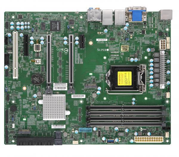 Supermicro Motherboard X11SCA-F X11SCA-F, ATX, Intel C246,  W125656233 - eet01