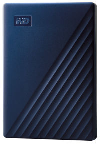 Western Digital My Passport for MAC 4TB Blue  WDBA2F0040BBL-WESN - eet01