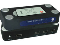 WE087 MicroConnect HDMI 1.3 Switch 3 to 1 1.3a With remote controller - eet01