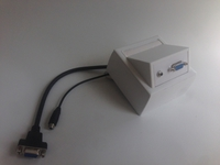 ProFusion Wall Connection Box VGA, 3.5mm Audio WI221182 - eet01