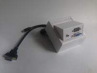 ProFusion Wall Connection Box VGA, 3,5mm, HDMI WI221192 - eet01