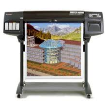 HP Designjet 1055CM Plus Plotter A0 C6075B - Refurbished
