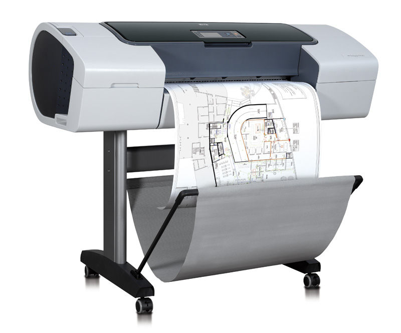 HP Designjet T1120 (A1) Plotter (Brand New In Box, No Stand) CK837A - Refurbished